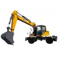 Buy cheap XE150W Excavator 104kw Earthmoving Machinery Powerful digging force from wholesalers