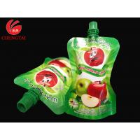 Buy cheap Food Grade Stand Up Pouch With Spout / Reusable Liquid Packaging Bag from Wholesalers