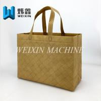 Buy cheap Eco-friendly 140g Non-Lamination embossing Non Woven shoppingBag from wholesalers