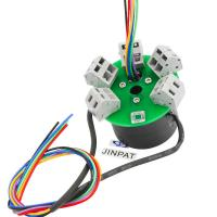 Buy cheap 12 Wires High Current Performance through hole slip ring For Machinery Parts from wholesalers
