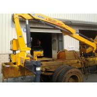 Buy Durable Commercial Knuckle Boom Truck Mounted Crane , 3200kg 6.72 T.M Lifting at wholesale prices