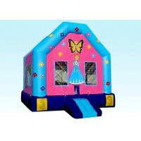 Quality Jumper Backyard Inflatable Princess Doll House With Logo Customized for sale
