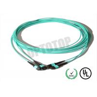 China SC LC FC Fiber Patch Cord , Custom MPO MTP Patch Cord Multiple Core on sale