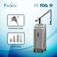Quality Rectangle Circle Triangle Rhombus Ellipse Line Scan Shapes CO2 Fractional Laser Equipment for sale