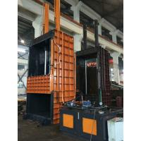 Buy Semi - Automatic Vertical Baler Machine For Cardboard , Manual Valve Operation at wholesale prices