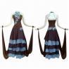 Buy cheap Korean Rhinestones Decorated Ballroom Dress, Made of Lycra and Chiffon, from wholesalers