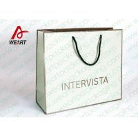 Buy cheap LOGO Printed Paper Favor Bags With Handles from Wholesalers