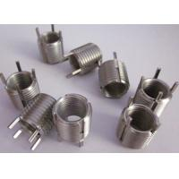 Quality brass keenserts for screw thread repairing in weaker materials for sale