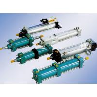 Quality Aluminium alloy supercharge / Pressurized pneumatic air cylinder  , compact pneumatic cylinders for sale