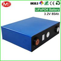 Quality Deep cycle life 3.2V 85AH LiFePO4 battery cell for home solar energy system for sale