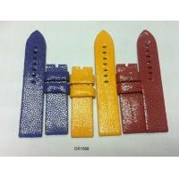 Quality 16mm 18mm 20mm 22mm Stingray Leather Watchband Blue, Red, Yellow, Custom Watch Band Strap for sale