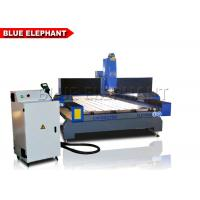 Quality Hign Speed Indusrrial Cnc Router Stone Engraving Machine Stainless Steel T - Slot Table for sale