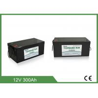 Quality Topband Deep Cyle Lithium Phosphate Battery Lifepo4 Marine / RV Caravans 12v 300ah for sale