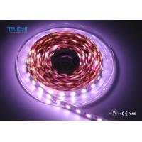 Quality IP20 Addressable 12V Ws2818B 5050 RGB LED Strip 120 Degree Viewing Angle for sale