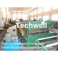 Quality Cr12 Automatic Galvanized Steel Sheet Floor Deck Forming Machine, Decking Sheet Roll Former for sale