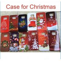 Quality Christmas PC hard back Case Cover Santa Claus Cases For iphone 6 plus 5S 4S Samsung Galaxy S5 S6 S7 Note 4 7 Christmas for sale