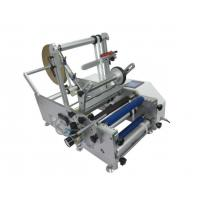 Two sides Label Printing Machine Semi Automatic Round Bottle Labeling Machine for sale