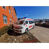 China Ambulance trucks in sales for patient / special ambulance in stock light duty commercial trucks on sale