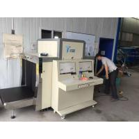 Buy Dual View X Ray Luggage Scanner / Airport Security X Ray Machine Conveyor Type at wholesale prices