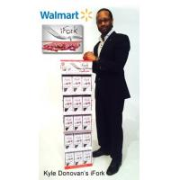 Buy cheap Corrugated 5 Shelf Paper Display Stand Retail POS Displays for iFork Tablewares from wholesalers