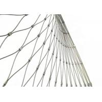 Quality Stainless Steel Wire Rope Mesh Fence for Zoo Enclosure and Animal Cages for sale