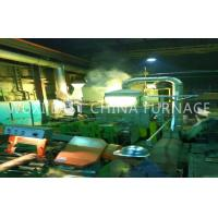Quality Bronze Plate Strip Pipe Rod Horizontal Continue Casting Machine 2 Double Strand for sale