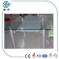 Polished edge toughened glass table top with csi ce ccc for 52 glass table top