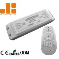 Quality PWM Signal ABS LED Light Strip RF Controller With Group Dimming Function 2.4GHz for sale