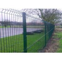 Buy cheap Professional Plastic Coated Garden Wire Mesh Fencing With Heavy Steel Structure from wholesalers