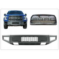 China Ford F150 2015 2017 Raptor Style Steel Front Bumper Bar and Front Grille on sale