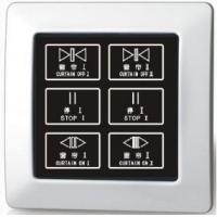 Quality Curtain Switch A2-422CL TouchScreenElectronicCurtainControlSwitch for sale