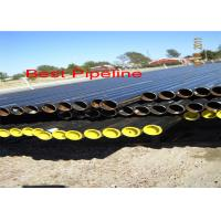 Quality CSN EN 10208 Spiral Welded Steel Pipe , Class A Combustible Liquid Gas Line Pipe for sale
