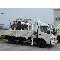 China Durable 3.2 Ton Lifting Telescoping Boom Truck Mounted Crane , 6.72 T.M on sale