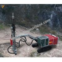 Buy cheap 15m Depth Full Hydraulic Top Hammer Drill Machine With 76 - 115mm Diameter from wholesalers