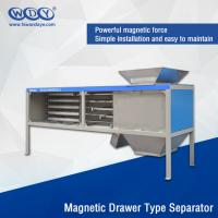 Quality Energy Saving Powder Magnetic Separator Machine With Vibrator 380VAC Input for sale