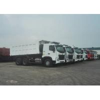Buy cheap SINOTRUK HOWO A7 6X4 Dump Truck Heavy Duty Truck , Tandem Axle Dump Truck Max from wholesalers