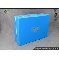 Quality Luxury Cardboard Apparel Packaging Box With Logo Printed / Shirt Packaging Boxes for sale