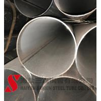 Quality Hydraulic Round Rolled Welded Steel Tube High Precision Cold Drawn for sale