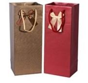 Quality hot sale bottle wine paper bag with high quality for sale