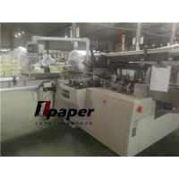 Quality Flat Tissue Paper Box Packing Machine Speed 30-80 Box/Min Glue System for sale