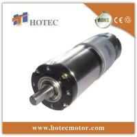 Quality 12 volt low noise dc motor and gearbox for sale