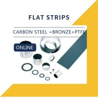 Quality Carbon Steel + Bronze + PTFE + Strips Composite Bearings Cylindrical Bushings DIN 1494 for sale