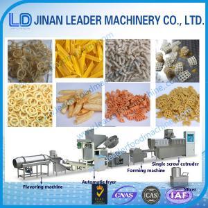 China Multi-functional wide output range chips pellet 3D pellet snack food equipment on sale