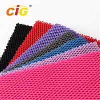 Quality Abrasion - Resistant Upholstery 100% Polyester Mesh Fabric for Garment for sale