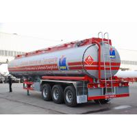 Quality 3 AXLES-Aluminum Alloy Tank Semi-Trailer for sale