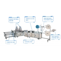Quality Servo Drive 220V Disposable Surgical Mask Making Production Line for sale