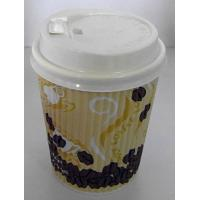 Buy cheap Logo Printed Disposable Paper Cups Single Wall With PE Coated , 22 Oz Paper Cups from wholesalers