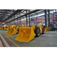 Buy cheap Mining Load Haul Dump Machine , 4 Wheel Lhd Loader For Underground Project from Wholesalers