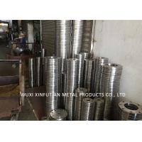 Buy cheap ASTM 316 Mirror Finish Stainless Steel Pipe Flanges Multiple Color Customized from wholesalers