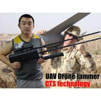 China 3 KM GPS Drone Radio Jammer , Glonass 5.8 GHZ 2.4 GHZ Jammer For Drones on sale